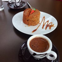 Photo taken at Cafem'o by Selin T. on 2/12/2014