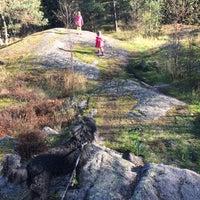 Photo taken at Keskuspuisto by Elsa-Maija L. on 9/28/2014