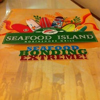 Photo taken at Blackbeard's Seafood Island by Kat M. on 5/3/2013