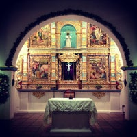 Photo taken at Iglesia La Niña María by Juan Sebastian L. on 12/23/2012