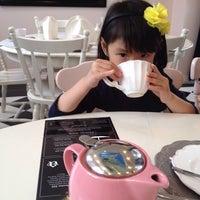 Photo taken at Adorabelle Tea Room by Elisa on 7/19/2014