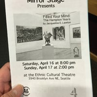 Photo taken at Ethnic Cultural Theater by Jason C. on 4/17/2016