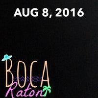 Photo taken at Boca Raton, FL by Waleed . on 8/8/2016