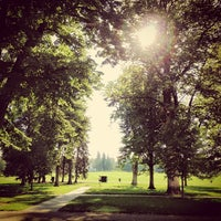 Photo taken at Cheesman Park by Mila S. on 8/24/2013