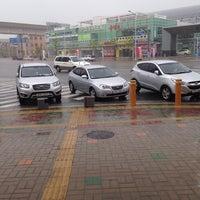 Photo taken at Seobusan Yutongjigu Stn. by Seunghoo L. on 7/8/2014