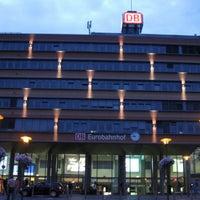 Photo taken at Saarbrücken Hauptbahnhof by Sascha S. on 5/12/2013