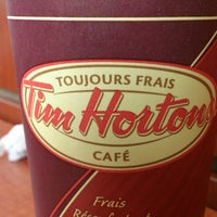 Photo taken at Tim Hortons by Pien L. on 8/17/2013