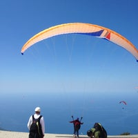 Photo taken at Escape Paragliding Landing Area by Marta T. on 5/14/2015