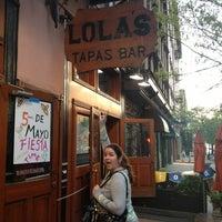 Photo taken at Lola Tapas & Wine Bar by Maickel C. on 5/2/2013