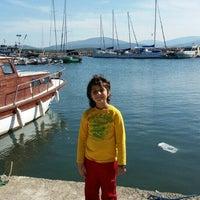 Photo taken at Akkum Liman, Ozbek Koyu by Orkun T. on 5/1/2016