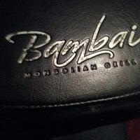Photo taken at Bambai Mongolian Grill by Christian V. on 5/15/2013
