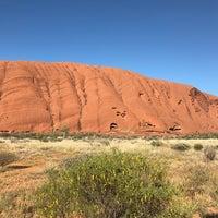 Photo taken at Uluru by Jason L. on 10/16/2016