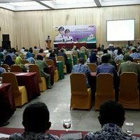 Photo taken at Makassar Golden Hotel (MGH) by Ansuard K. on 11/30/2015