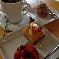 Photo taken at Chocolat Chic by 江東橋 on 5/24/2014