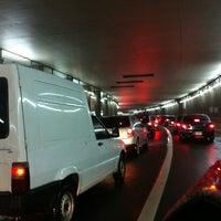 Photo taken at Tunel Av. Libertador by Mati D. on 11/3/2013