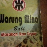 Photo taken at Warung Mina by gallank n. on 5/10/2013