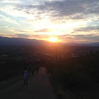 Photo taken at Tumamoc Hill by Lu G. on 7/14/2013