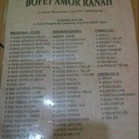 Photo taken at Bofet Amor Ranah by Akbar R. on 8/5/2013
