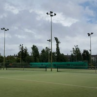 Photo taken at Bective Tennis by Iarla B. on 9/12/2016