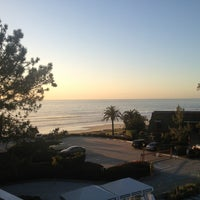 Photo taken at L'Auberge Del Mar by Megan G. on 2/28/2013
