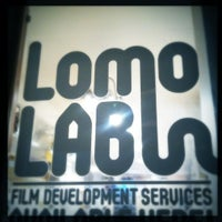 Photo taken at Lomography Gallery Store Santa Monica by Perlorian B. on 12/5/2012