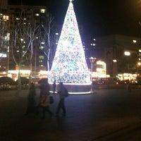 Photo taken at Cheongnyangni Stn. by J. J. Park on 12/1/2012