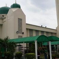 Photo taken at Masjid Al-Hasanah by Choki K. on 6/16/2013