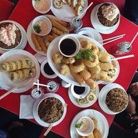 Photo taken at Obento Sushi by Diana C. on 2/14/2015