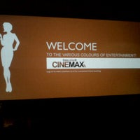Photo taken at Cinemax by Keerthana M. on 5/13/2013
