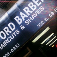 Photo taken at Bedford Barbers by Rex H. on 6/25/2013