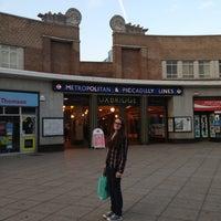 Photo taken at Uxbridge London Underground Station by Silvia L. on 6/7/2013