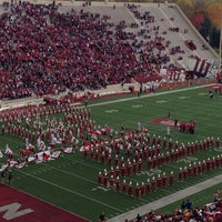 Photo taken at Memorial Stadium by Kyle M. on 11/2/2013