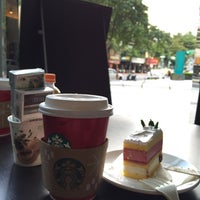 Photo taken at Starbucks by Pinyun C. on 11/10/2014