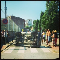 Photo taken at Sant Celoni by Javier F. on 7/26/2014