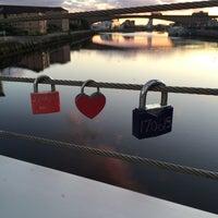 Photo taken at Tradeston-Broomielaw Bridge (Squiggly) by UKBrighton__ on 8/1/2016