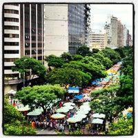 Photo taken at Feira de Artes e Artesanato de Belo Horizonte (Feira Hippie) by Tiago F. on 1/13/2013