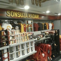 Photo taken at Galatasaray Store by sevcan on 9/27/2015