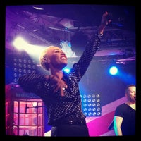 Photo taken at iHeartRadio Theater by Sasha . on 10/11/2013