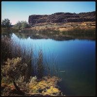 Photo taken at Dierkes Lake by Stephanie V. on 9/10/2013