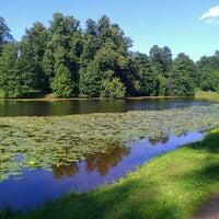 Photo taken at Природно-исторический парк «Кузьминки-Люблино» by Aleksandra T. on 6/5/2013