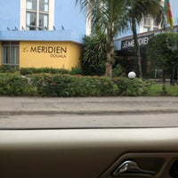 Photo taken at Le Méridien Douala by J. R. on 7/29/2013