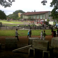 Photo taken at Saparua Running Track by Farisha T. on 1/20/2013