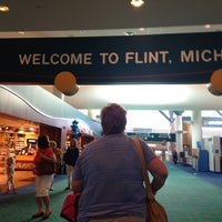 Photo taken at Bishop International Airport (FNT) by Kevin J. on 9/3/2013