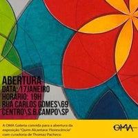 Photo taken at Arte Brasileira - artista plástico Quim Alcantara (Atelier, Galeria, Studio) by Quim A. on 1/13/2014