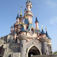 Photo taken at Disneyland® Paris by Caterina U. on 7/13/2013