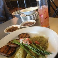 Photo taken at Blue Mesa Grill by Rhiannon L. on 5/18/2013