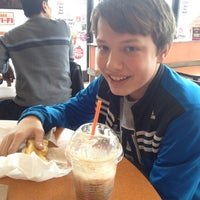 Photo taken at Dunkin Donuts by Andrew M. on 2/8/2014