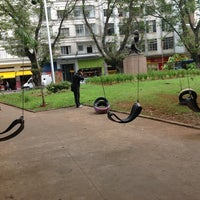 Photo taken at Feira Livre by Harley W. on 8/17/2013