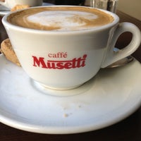 Photo taken at Caffé Musetti by Alberto J S M. on 10/3/2012
