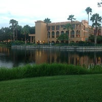 Photo taken at Disney's Coronado Springs Resort and Convention Center by Evelyn Elizabeth I. on 7/26/2013
